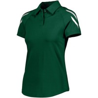 Holloway Ladies Flux Polo Green