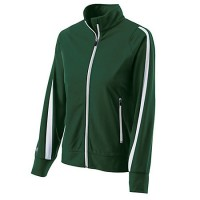 Holloway Ladies Determination Jacket Dark Green