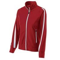 Holloway Ladies Determination Jacket Red