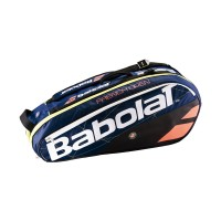 Babolat Pure 6 Pack French Open Bag - Navy Blue-Orange - 2017