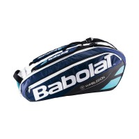 Babolat Pure 6 Pack Wimbledon Bag - Blue-Black-White - 2017