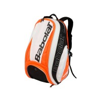Babolat Pure Backpack White-Fluo Red - 2018