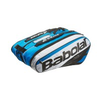 Babolat Pure 12 Pack Tennis Bag - Blue/White - 2017