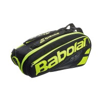 Babolat Pure 6 Pack Tennis Bag - Black/Yellow - 2017