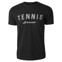 Babolat Tennis Logo Tee Black XLarke