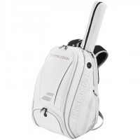Babolat Wimbledon Pure White and Gold Backpack