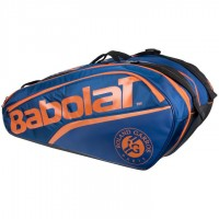 Babolat Roland - Garros Dark Blue / Orange 12pk Racket Bag