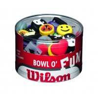 Wilson Bowl of Fun Dampeners 65 Pcs