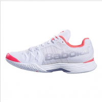 Babolat Jet Mach II Women's White/ Fluo Pink/Silver/ Tennis Shoes