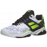 Babolat Propulse Fury AC White/ Fluo Yellow Men's Shoes