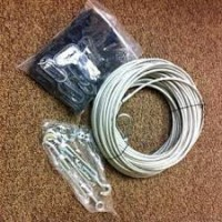 Tennis Divider net Installer Kit Including Cable