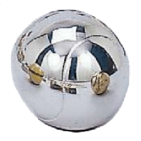 Silver Plated Tennis Ball Pewterware - Without Base