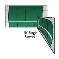 Bakko Backboard Single Curve 10x12