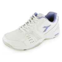 Diadora Women's Star Class III White and Violet