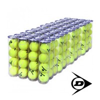 Dunlop Academy Practice Tennis Balls 4 ball can - Case - (48 cans)