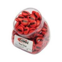 Gamma Red Dot - Jar Of 60 Loose Dampeners