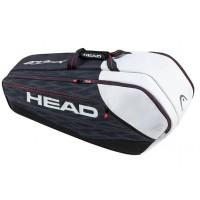Head Djokovic 9R Supercombi Tennis Bag - Navy and Black