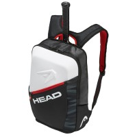 Head Djokovic Backpack - Black/White/Red - 2018