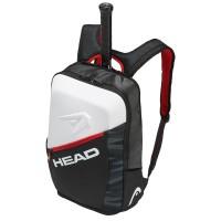 Head Djokovic Backpack - Black/White/Red - 2018