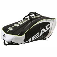Head Djokovic 12 Racket Monstercombi Tennis Bag