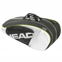 Head Djokovic 9 Racket Monstercombi Racquet Bag