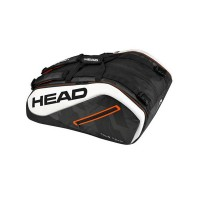 Head Tour Team 12R Monstercombi Tennis Bag - Black/White - 2017