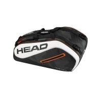 Head Tour Team 9R Supercombi Tennis Bag - Black/White - 2017