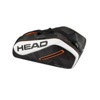 Head Tour Team 6R Combi Tennis Bag - Black White - 2017