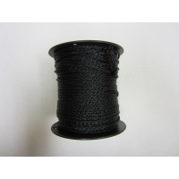 Black Windscreen Poly Twine 600', 1/4""