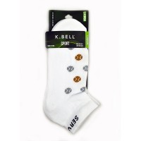 "K Bell ""Serve It Up"" Sock"