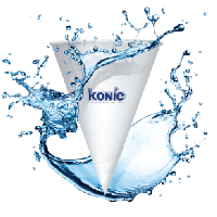 Konie Cone Paper Cups 4 Oz. For Igloo Dispenser (Case/5000)