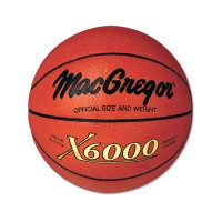 Mac Gregor X6000 Official Size Indoor/Outdoor Basketball