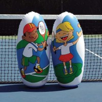 Mini-Tennis Knockdowns Set of 2