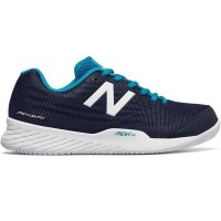 New Balance 896v2 Blue with White  Women's Tennis Shoe