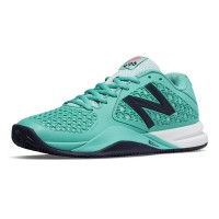 New Balance Women's 996v2 - B Width -Teal and Navy