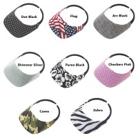 No Headache Original Fabric Visor - Pattern Print