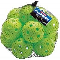 Pickleball - Indoor Balls - Lime Green (12 Pack)