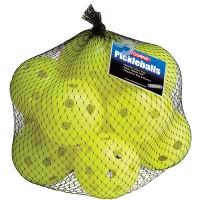 PIckleball - Indoor Balls - Optic Yellow (12 Pack)