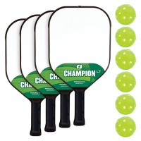 Champion LT 4 Player Paddle & Ball Pack