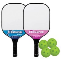 Champion Pickleball Spark Bundle - 2 paddles / 4 balls