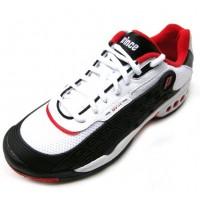 Prince Mens OV-1 Black/White/Red 12