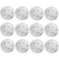 Offical Picklbeball Balls 1 Dozen-White