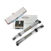 Quik-Stiks-Silver/Quik-Strap Combo