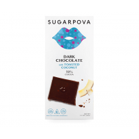 Sugarpova Dark Chocolate with Toasted Coconut  (3.5oz)