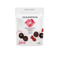 Sugarpova Truffles Dark Chocolate Raspberry Truffles