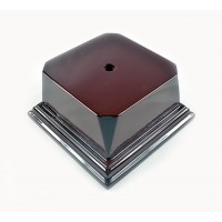 Rosewood Series Economy Base 3 1/8 Square Block