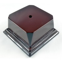 Rosewood Series Economy Base 4 1/8 Square Block
