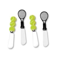 Tennis Spreader Set - Racquet and Balls (4 piece set)