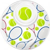 "Multi Racquet Chip & Dip 14"""