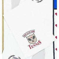 "Tennis Scarf Towel ""Shield Crest"""